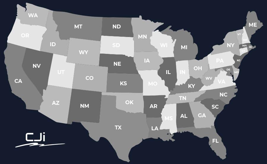CJI Map